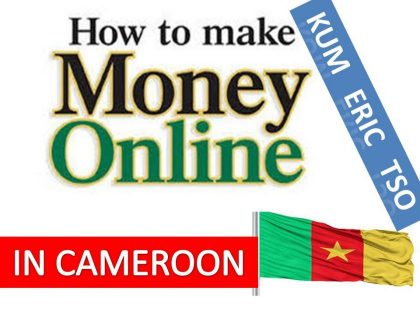 How can I make money online in Cameroon?