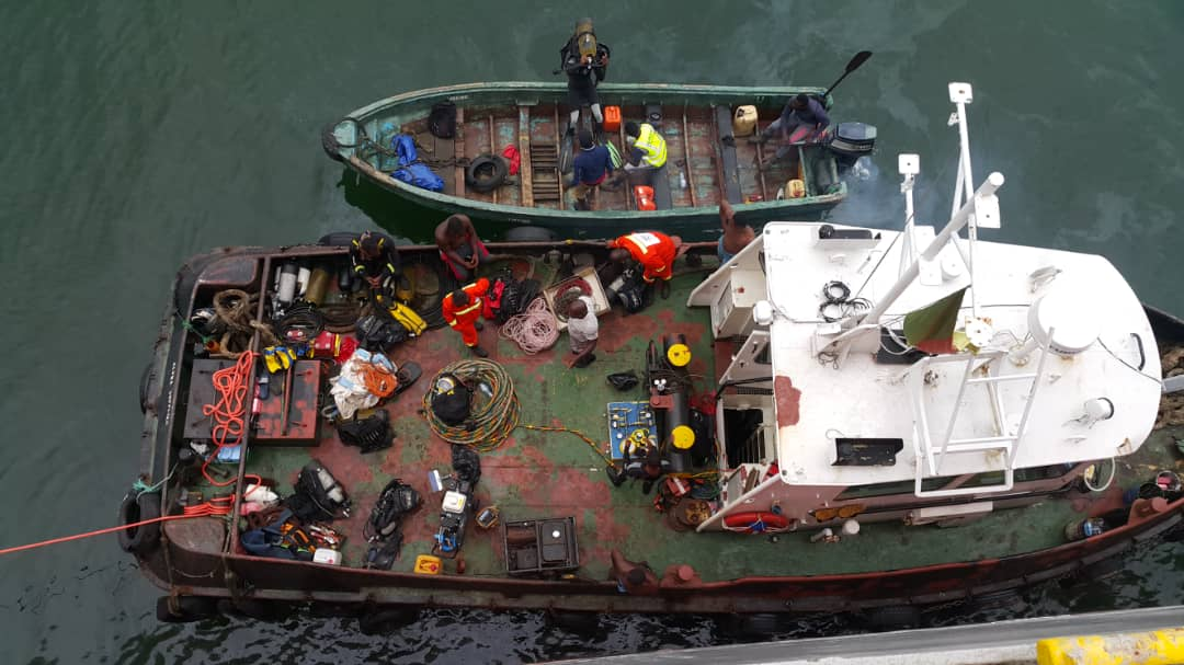 United Marine Services Ltd, The leading diving company in Cameroon
