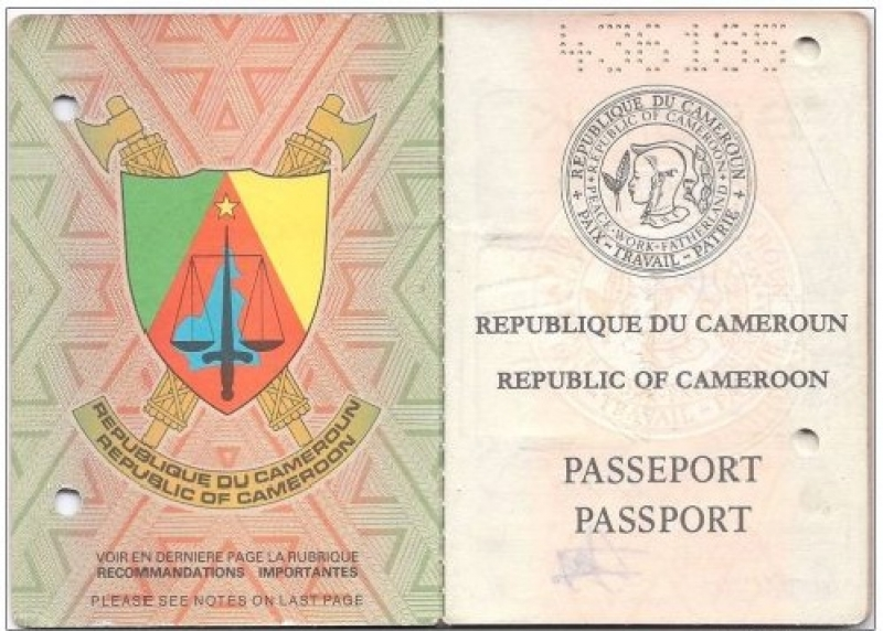 Cameroon passport