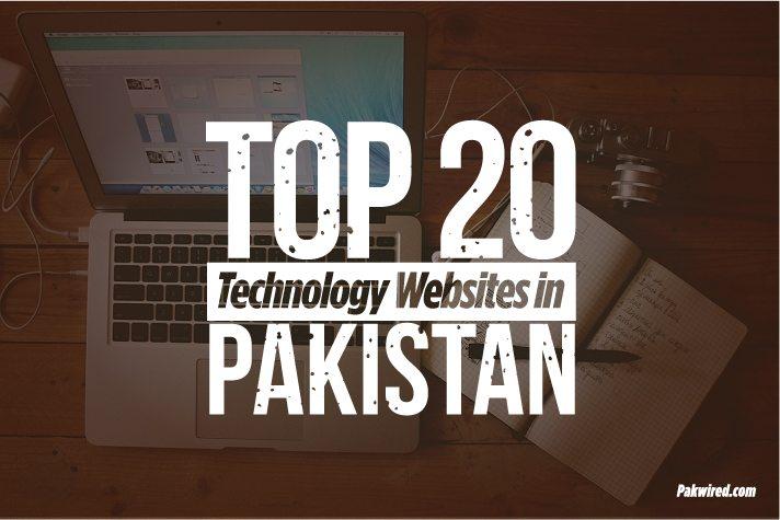 Top 20 Technology Websites in Pakistan