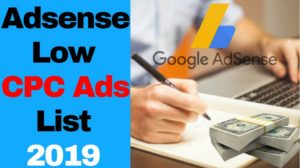 How to block Low CPC Adsense Ads